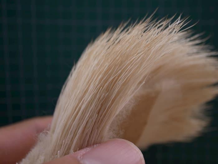 ブリーチドエルクの毛並