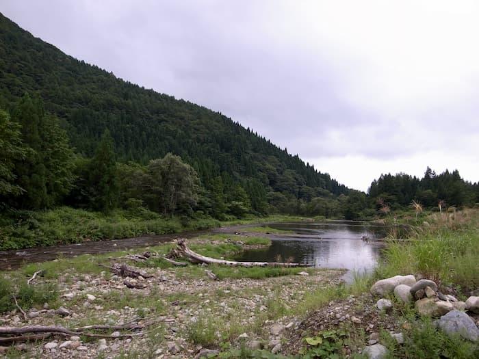 土内川のプール