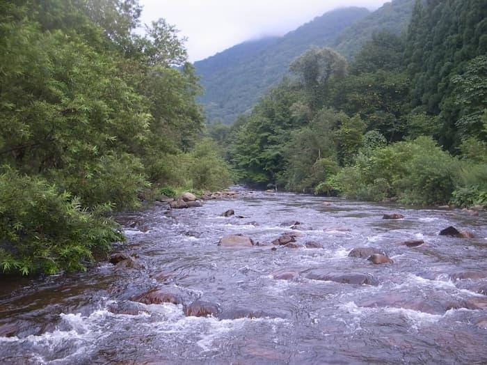 土内川のガンガン瀬