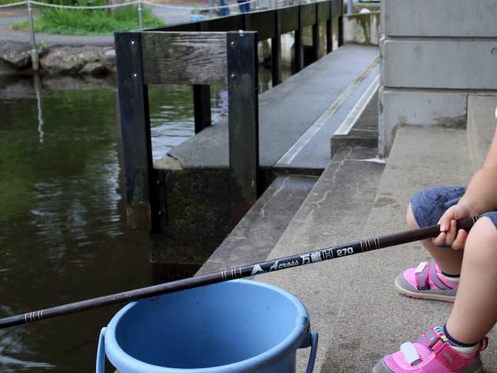 初めての釣り