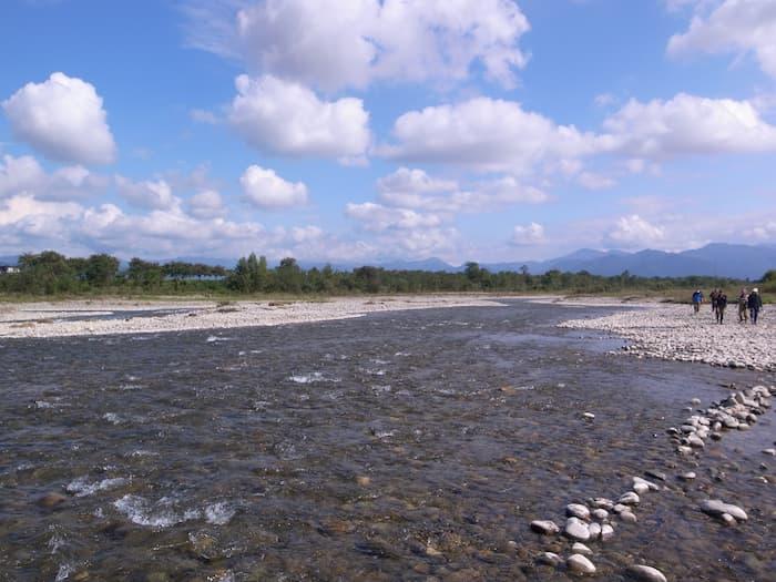 寒河江川鮭有効利用調査の終了後