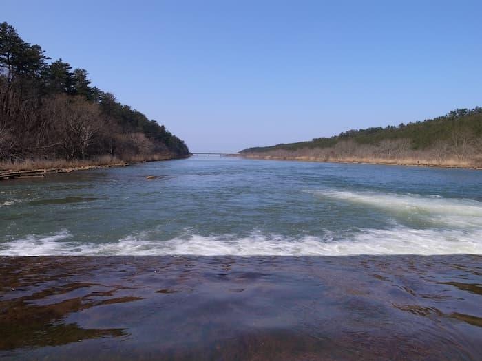 赤川の3段の上