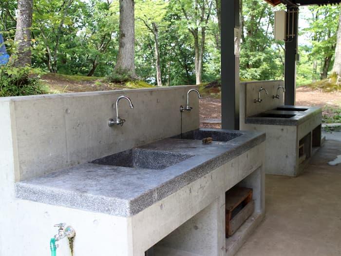 炊事場の流し台