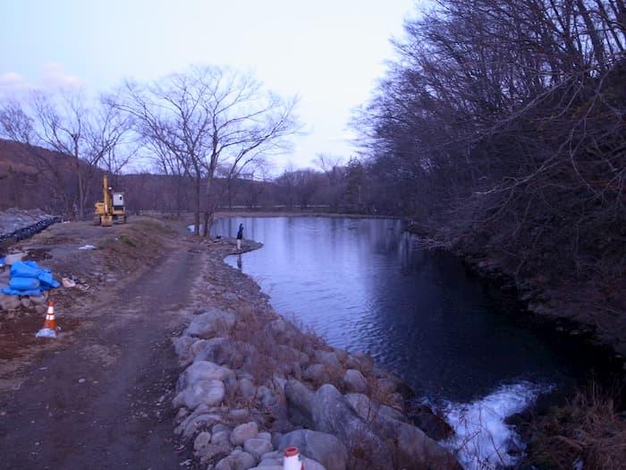 蔵王フォレストスプリングスの6号池