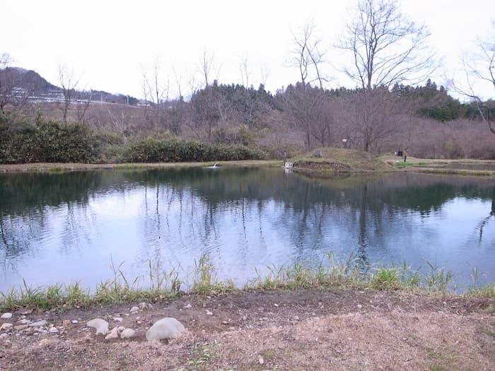 秋保フィッシングエリアの2号池