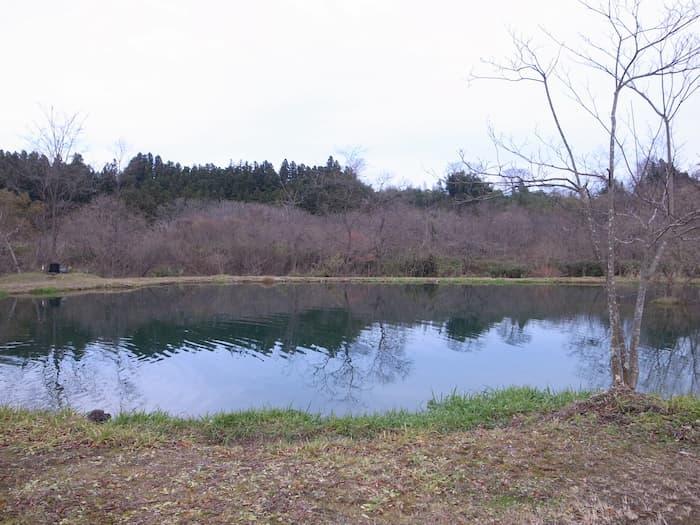 秋保フィッシングエリアの3号池
